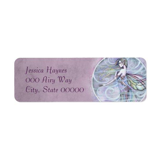 Air Element Fairy Fantasy Art Return Address Label