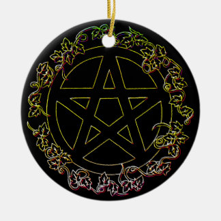 Air Element Pagan Pentacle Ornament