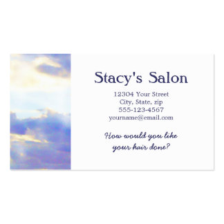 AIR Element Skyscape Double-Sided Standard Business Cards (Pack Of 100)