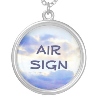 AIR Element Skyscape Custom Necklace