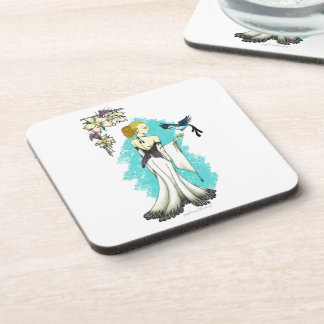 Air Elemental Hard Plastic Coasters