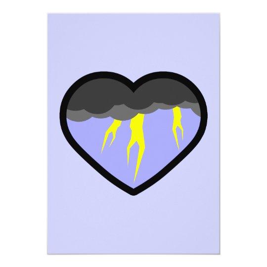 Air Elemental Heart Card