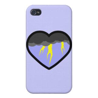 Air Elemental Heart iPhone 4 Cover
