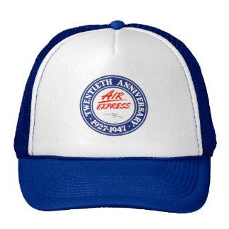 Air Express 20th Anniversary Hats