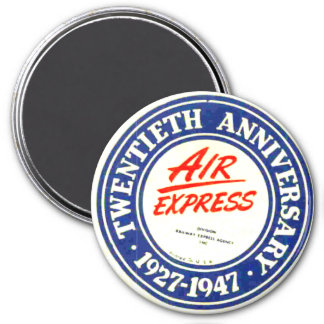Air Express 20th Anniversary  Magnet