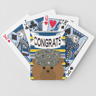 Air Force Airman Congrats! Playing Cards