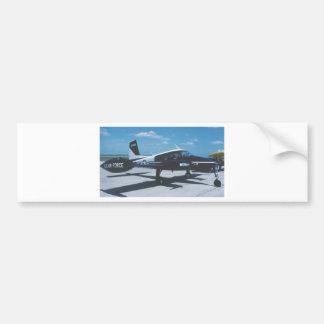 Air Force Blue Canoe Bumper Sticker