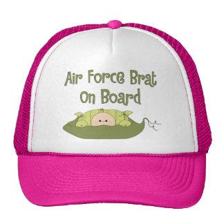Air Force Brat On Board (Caucasian) Trucker Hats