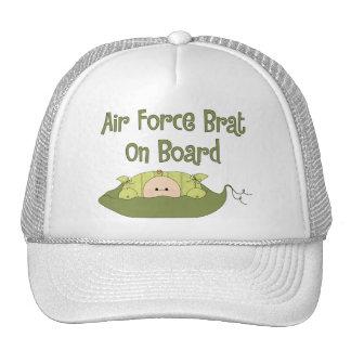 Air Force Brat On Board (Caucasian) Hat