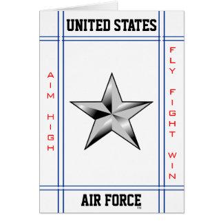 Air Force Brigadier General O-7 Brig Gen Card