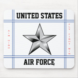Air Force Brigadier General O-7 Brig Gen Mouse Mat