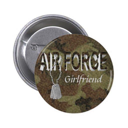 Air Force Button  Pinback Button