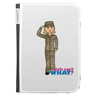 Air Force Camo Blonde Case For Kindle