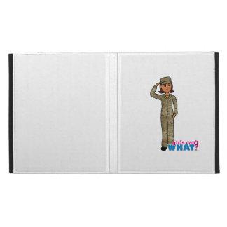 Air Force Camo Dark iPad Folio Case