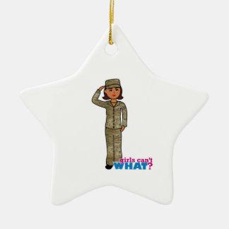Air Force Camo Dark Christmas Tree Ornaments