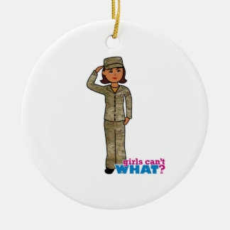 Air Force Camo Dark Christmas Ornament