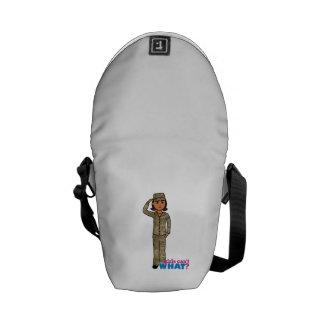 Air Force Camo Dark Messenger Bag