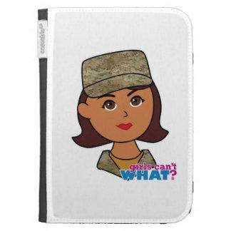 Air Force Camo Head Dark Kindle Covers