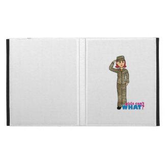 Air Force Camo Red iPad Folio Cover