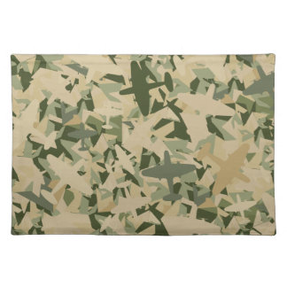 Air Force Camouflage Napkin Placemat