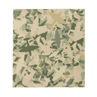Air Force Camouflage Notepad