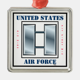 Air Force Captain O-3 Christmas Ornament
