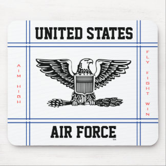 Air Force Colonel O-6 Col Mouse Mat