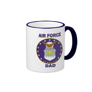 Air Force Dad Ringer Mug