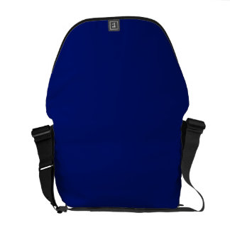 AIR FORCE DARK BLUE (solid color background) ~ Courier Bag