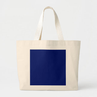 AIR FORCE DARK BLUE (solid color background) ~ Jumbo Tote Bag
