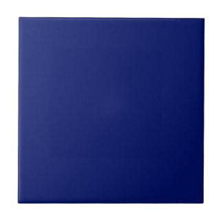 AIR FORCE DARK BLUE (solid color background) ~ Small Square Tile