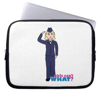 Air Force Dress Blues Light Laptop Sleeves