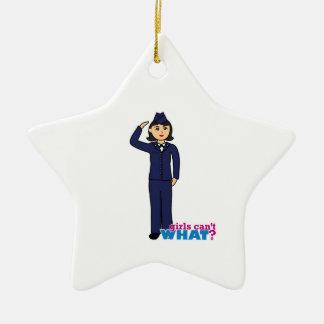 Air Force Dress Blues Medium Christmas Ornament