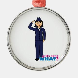 Air Force Dress Blues Medium Christmas Ornaments