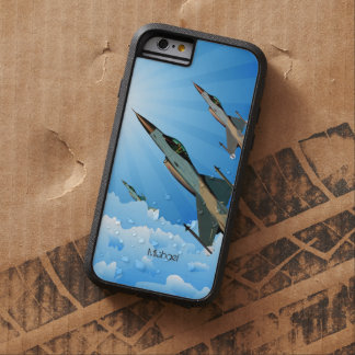 Air Force F16 Fighter Team Flying Into Clouds Tough Xtreme iPhone 6 Case