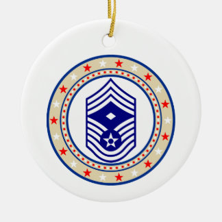 Air Force First Sergeant E-9 Christmas Ornament