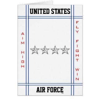 Air Force General O-10 Gen Card