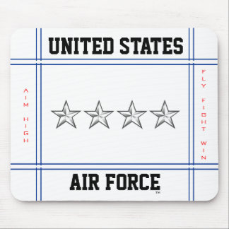 Air Force General O-10 Gen Mouse Mat