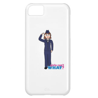 Air Force Girl iPhone 5C Covers