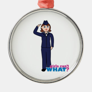 Air Force Girl Ornament
