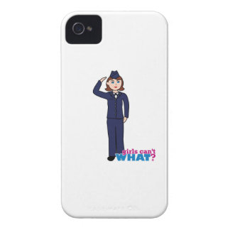 Air Force Girl iPhone 4 Cover