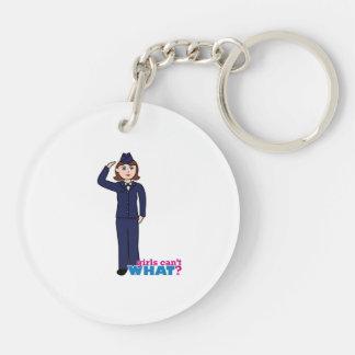 Air Force Girl Key Chains