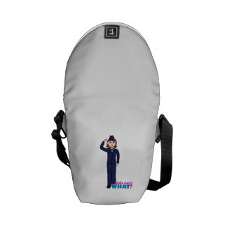 Air Force Girl Messenger Bags