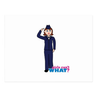 Air Force Girl Post Cards