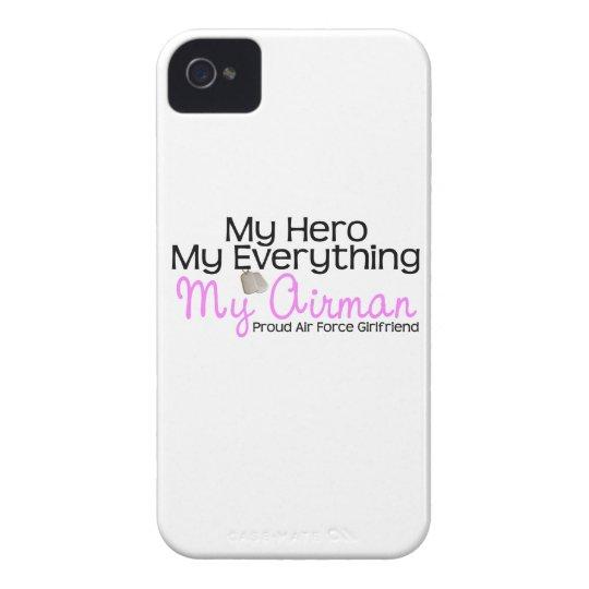 Air Force Girlfriend My Hero Case-Mate iPhone 4