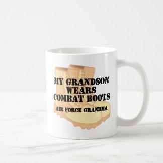 Air Force Grandma Grandson DCB Mugs