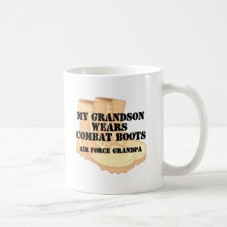Air Force Grandpa DCB Grandson Mugs