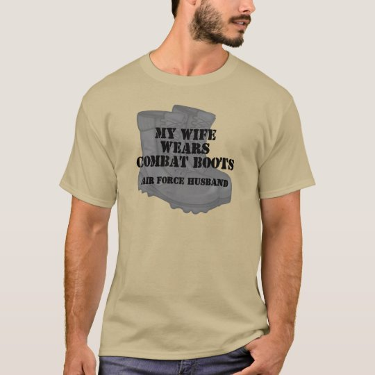 Air Force Husband CB T-Shirt