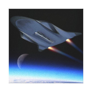 Air Force Hypersonic Cruise Vehicle Artist Concept Canvas Print