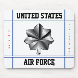 Air Force Lieutenant Colonel O-5 Lt Col Mouse Mat